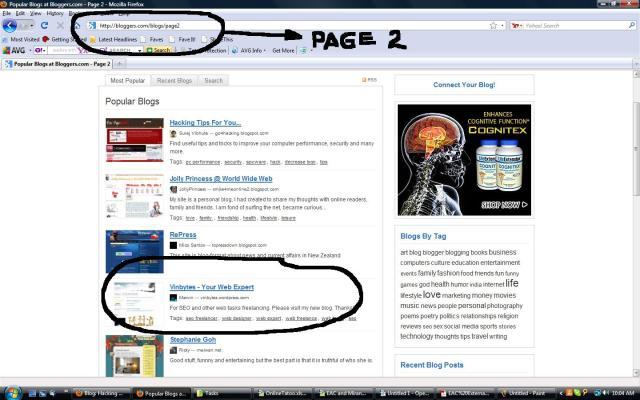 Online Web Blogger