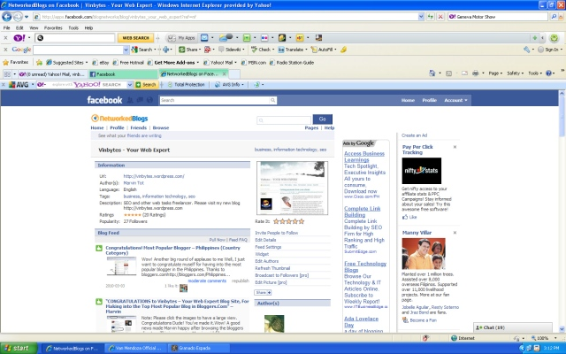 Network Blogs