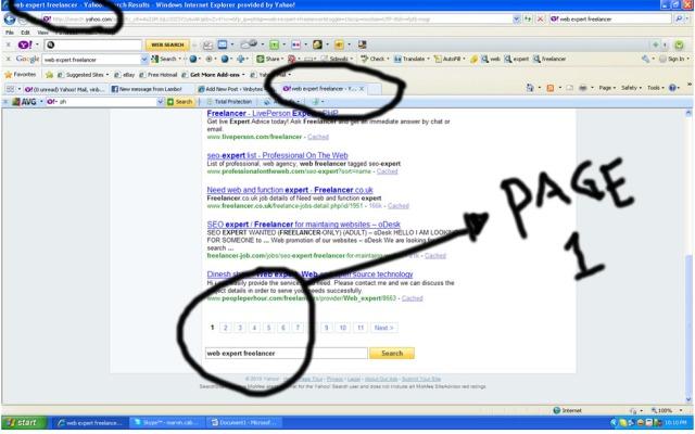 professional website freelancer